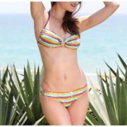 Halter Bikini Rainbow