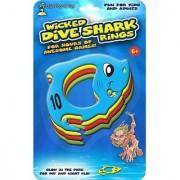 Wicked Dive Shark Rings Glow in the Dark