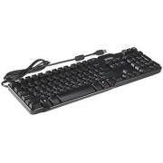 Dell USB Enhanced Slim Black Keyboard DJ331 RH659 SK-8115 L100 W7658 J4628 U01
