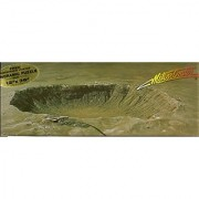 Meteor Crater Panoramic Jigsaw Puzzle 500 Pieces