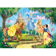 Clementoni Puzzle 24411 - Princess and horses - Maxi 24 pezzi