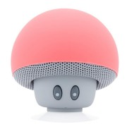 Boxa portabila Mushrooms, Bluetooth, 3W, Microfon / Handsfree, Roz