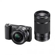Sony A5000, 16-50+55-210mm, 20,1Mpix, čierna