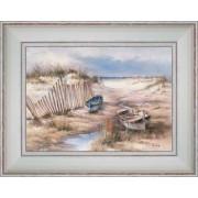 Barques dans les dunes