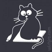 T-shirt Gato Guloso