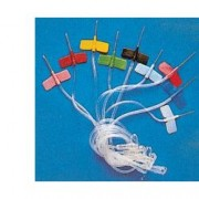 Ago a farfalla gauge21 sterile utilizzato per terapia infusionale confezione singola. scatola 100 pezzi