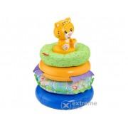 Jucărie pentru bebeluși Fisher Price, priamidă de inele
