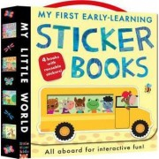My First Early-learning Sticker Books by Fhiona Galloway