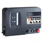 VOSS.farming AVi 8000 - 12V Battery / Mains Energiser, incl. Digital Fence Tester