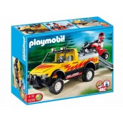 Pick-Up Truck Quad with Bike by Playmobil