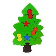 Skillofun Wooden Christmas Tree Take Apart Puzzle