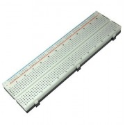 PI Manufacturing Solderless Breadboard Simple Type, 730 Tie Point, 1 Bus Strip for Educational Purposes
