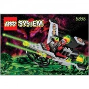 LEGO SYSTEM V-Wing Fighter, 6836, 39 Pieces, Space, UFO by LEGO