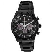Citizen Black Stainless Steel Round Dial Quartz Watch For Men (CA4035-57E)