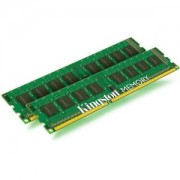 Memorie Kingston ValueRAM 16GB (2x8GB) DDR3 ECC Registered, 1333MHz, PC3-10600, CL9, Dual Channel Kit, KVR1333D3E9SK2/16G