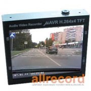 Видеорегистратор mAVR H.264x4 TFT