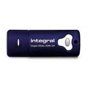 Memorie USB Integral Crypto Dual 32GB USB 3.0 Fips 197
