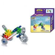 Magideal Set of 35 DIY Building Blocks Children Construction Bricks Toys - Motorcycle