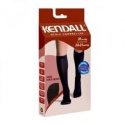 Meia Masculina Kendall Compressão 18-21 3/4 Panturrilha Mc Medio Preto