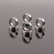 Generic 8pcs Oil-Retaining Bearing 4x8x3mm A949-33 For RC WLtoys A959 A969 A979 K929 WL tosy Racing