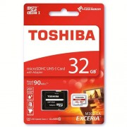 Toshiba Exceria M302 32GB Micro SD Memory Card 90 MB/s 4K - Recommended for Action Cameras, GoPRO Hero 4 & Hero 5