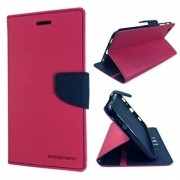 "Sony Xperia M4 Aqua(Pink) All Sides Protection ""360 Degree"" Sleek Rubberised Matte Hard Flip Cover By Zauky"