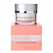 Натурален нощен крем с българско розово масло Natural Cosmetic Rose Natural Night Cream 50 мл