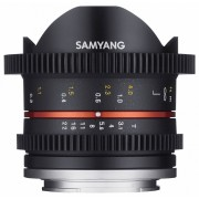 Samyang 8mm T3.1 Cine UMC Fish-eye II (Canon M)