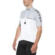 VOTEC EVO Race Koszulka kolarska Mężczyźni szary/biały XL Koszulki kolarskie z krótkim rękawem