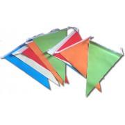 Party zászló fűzér, színes