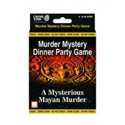 A Mysterious Mayan Murder Murder Mystery Gift Box Downloadable Game For 6,8,10 Or 12 Players