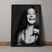 Quadro Decorativo Janis Joplin 35x25