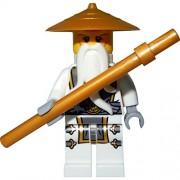 LEGO Ninjago : Minifigur Sensei Wu / Master Wu (out of 70734)