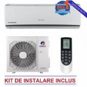 Aparat aer conditionat Gree LOMO GWH09QB-K3DNA1C 9000 BTU A++/A+ Alb WI-FI Optional + Kit Instalare Inverter