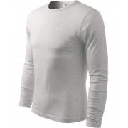 ADLER FIT-T Long Sleeve Pánské triko 11903 světle šedý melír S