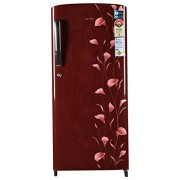 Samsung 192 L 5 Star Direct-cool Refrigerator (RR19K173ZRZ/RR19K273ZRZ , Tender Lily Red)