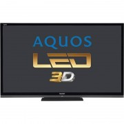 Televizor Sharp LED Smart TV 3D LC-70LE747E Full HD 177 cm Black