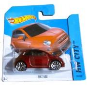 Hot Wheels - HW City 25/250 - Fiat 500 on Short Card