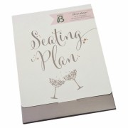 Busy B Bride to Be Wedding Seating Planner