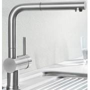 Keukenkraan Blanco Linus S 517184 Rvs geborsteld