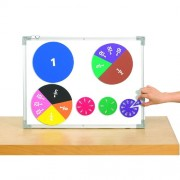 GIANT MAGNETIC FOAM FRACTION CIRCLES Set of 51 by Learning Advantage