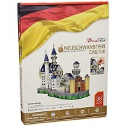 Cubicfun Mc062H Neuschwanstein Castle Puzzle
