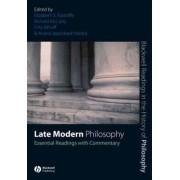 Late Modern Philosophy by Elizabeth S. Radcliffe