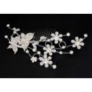 Svatební štrasová bižuterie do vlasů motýlci 5710-2 5710-2