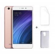 "Xiaomi Redmi 4A 2 + 16GB 4G LTE Dual Sim Android 6.0 Quad Core 5.0 ""HD 5 + 13MP Oro Rosa + Protector De Pantalla + Estuche"