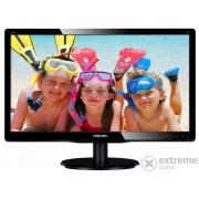 """Monitor Philips 200V4QSBR/00 19,5"""" MVA, negru"""