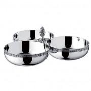 Christofle Triplo Bowl para Aperitivos Malmaison Christofle