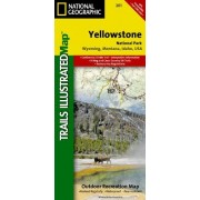 Yellowstone National Park 201 Gps Wyoming-Montana-Idaho