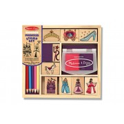 Wooden Princess Stamp Set by Melissa & Doug