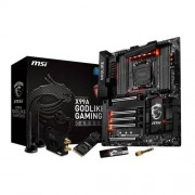 MSI X99A GODLIKE GAMING CARBON S.2011-3 Scheda Madre, Nero